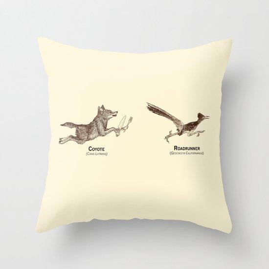 Endangerous Species Throw Pillow