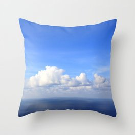 room with a view - day 1 Throw Pillow