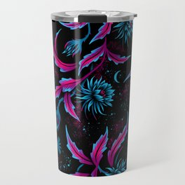 Queen of the Night - Black Purple Travel Mug