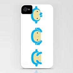 3 Wise Monkeys Slim Case iPhone (4, 4s)
