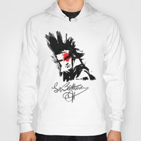 beethoven Hoodies featuring Beethoven Punk by viva la revolucion