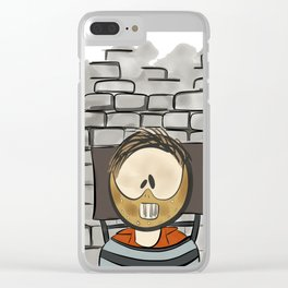 Dr. Hannibal Lecter - Silence of the Lambs Character Clear iPhone Case