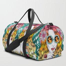 Beach Frenzy Duffle Bag