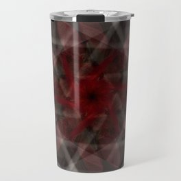 Contained in red Travel Mug