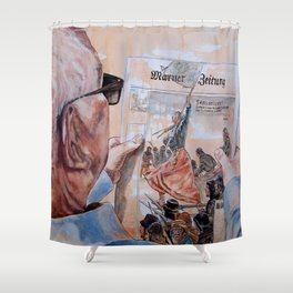 SENSATION Shower Curtain