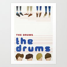 The Drums Art Print