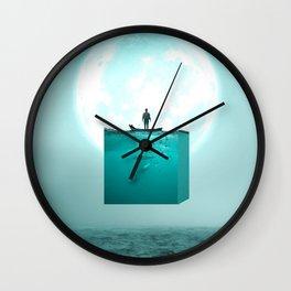 Rise Along Wall Clock