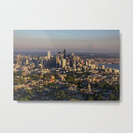 Hello Seattle! Metal Print