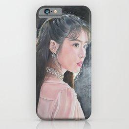 IU Lee Ji Eun Drawing | Xszone iPhone Case