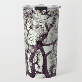 White Tree Blossom Travel Mug