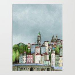 Porto landscape Poster