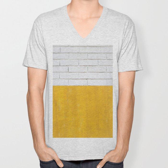 Yellow brick road Unisex V-Neck