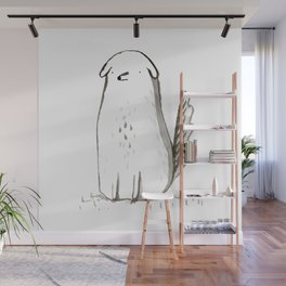 Sitting Dog Wall Mural