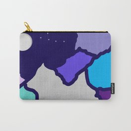 mountains and night sky Carry-All Pouch