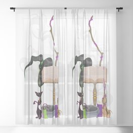 Witchery Sheer Curtain