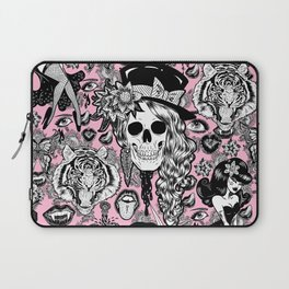 Pink Halloween Laptop Sleeve