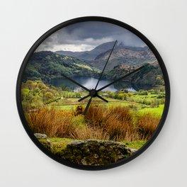 Nant Gwynant Snowdonia Wall Clock