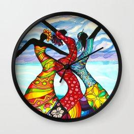 Let's Dance Belize Wall Clock