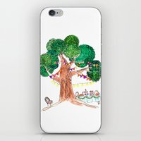 welcome iPhone & iPod Skins featuring Welcome by Sreetama Ray