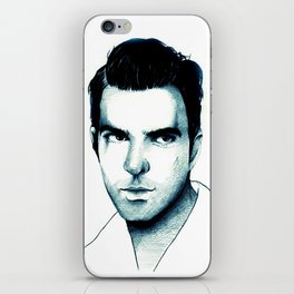 Zachary Quinto iPhone Skin