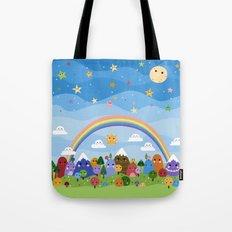 Cute World Tote Bag