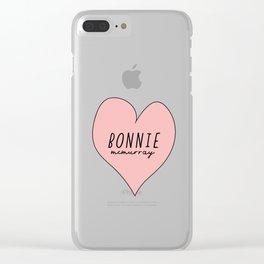 Bonnie McMurray Clear iPhone Case