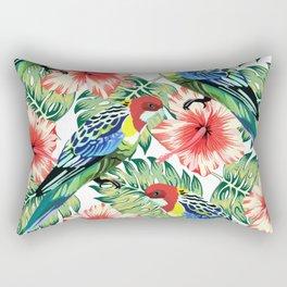 Tropical Bird of Paradise Design Series 2 Rectangular Pillow