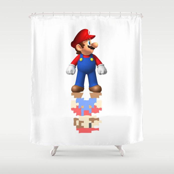 Super Mario Shower Curtain