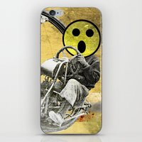 cycle iPhone & iPod Skins featuring Cycle by Trey Crim