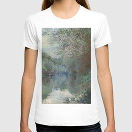 "Claude Monet ""Saules au bord de Lyerres (Willows on the edge of Lyerres)"" T-shirt"