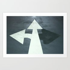 :: arrows :: Art Print