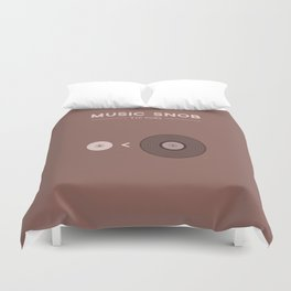 "Still NOT ""The New Vinyl"" — Music Snob Tip #082.5 Duvet Cover"