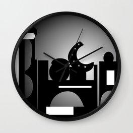 Night Time Bazaar Wall Clock