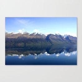 Lake Wakatipu Reflection Canvas Print