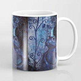The Frog King - blue Coffee Mug
