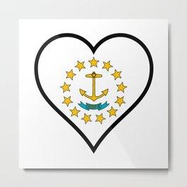 Love Rhode Island Metal Print