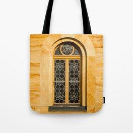 Neuschwanstein Window Tote Bag