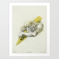 WL / I Art Print