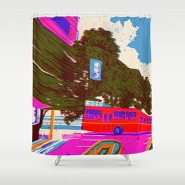 bring your love back in 7 days - Fortuna Series Shower Curtain