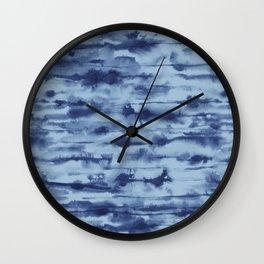 Stratus Denim Wall Clock
