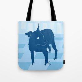 Blue Yuri Tote Bag