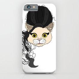 Amy Cat Head iPhone Case