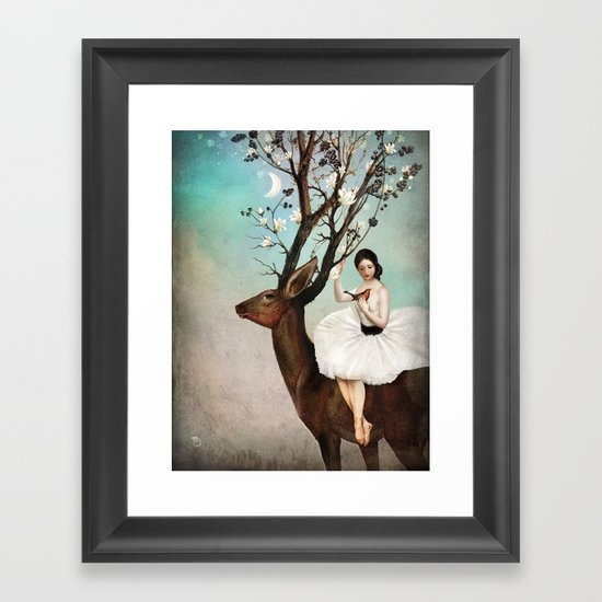 The Wandering Forest Framed Art Print