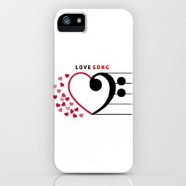 Lovesong iPhone Case