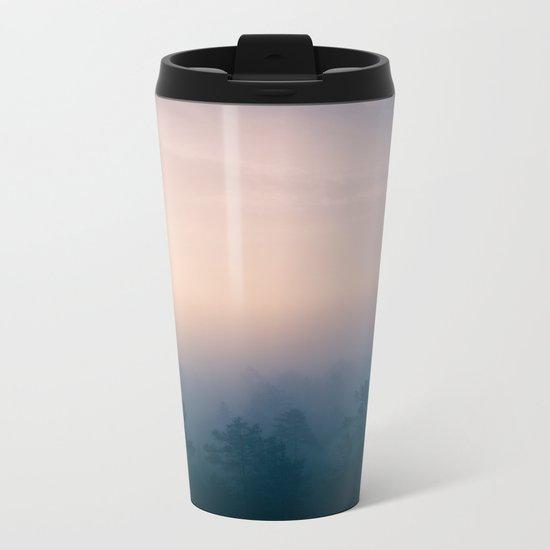 Sunrise in Heaven Metal Travel Mug