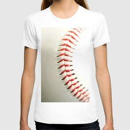 Base Ball Close Up T-shirt