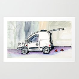 Little Van Art Print