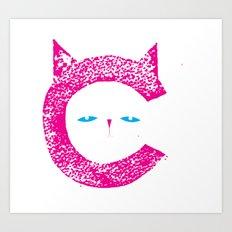 Alphabet Letter C Art Print