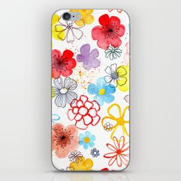 Summergarden iPhone Skin