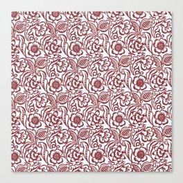 """William Morris """"Floral"""" Canvas Print"""